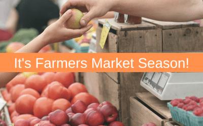 It's Farmers Market Season!